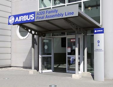 Airbus Dibond von Kettler Design Hamburg